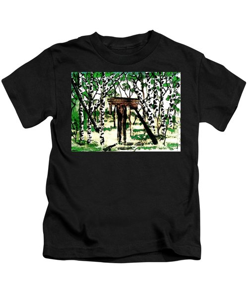 Old Obstacles Kids T-Shirt