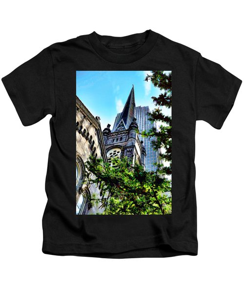 Old Stone Church - Cleveland Ohio - 1 Kids T-Shirt