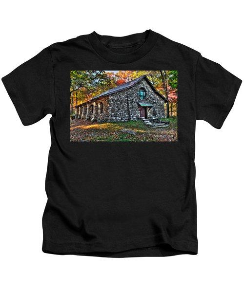 Old Stone Lodge Kids T-Shirt