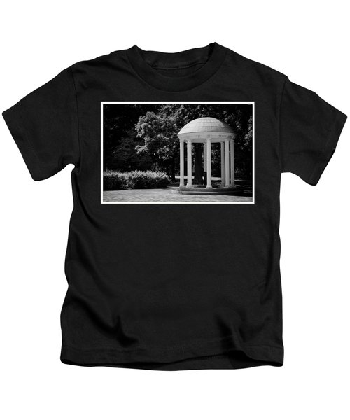 Old Well At Unc Kids T-Shirt
