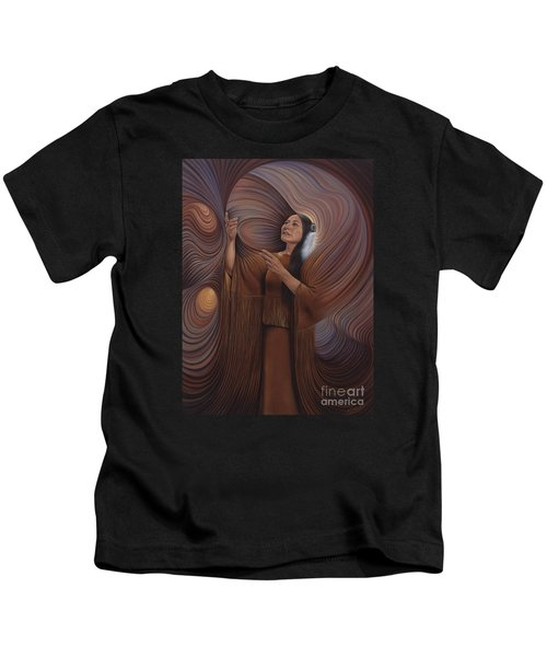On Sacred Ground Series V Kids T-Shirt