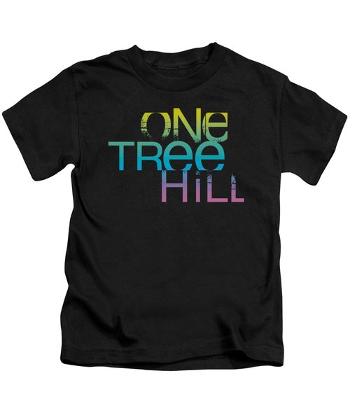 One Tree Hill - Color Blend Logo Kids T-Shirt