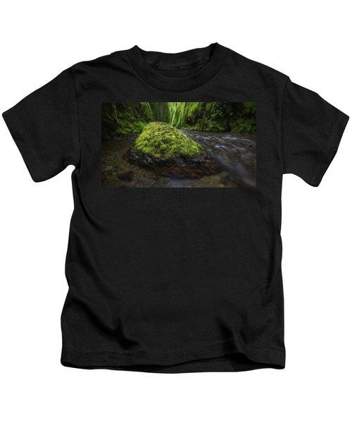 Oneonta Canyon, Columbia River Gorge Kids T-Shirt