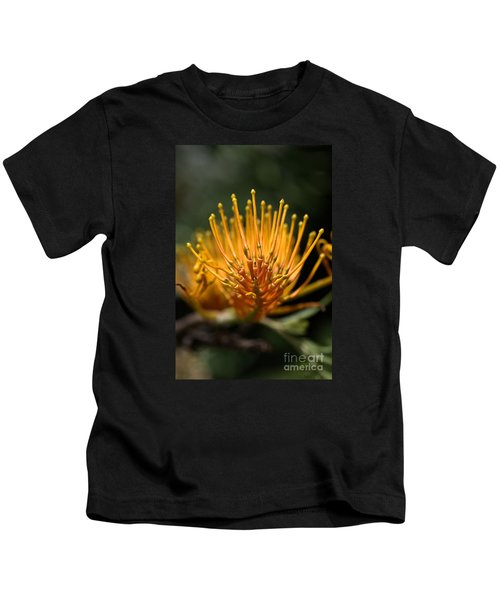 Orange Grevillea Kids T-Shirt