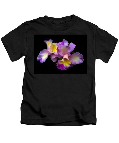 Orchid Embrace Kids T-Shirt