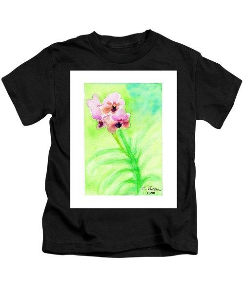 Orchids Kids T-Shirt