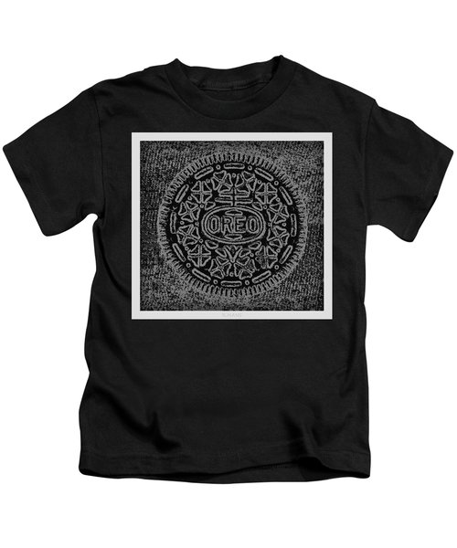 Oreo In Black And White Kids T-Shirt