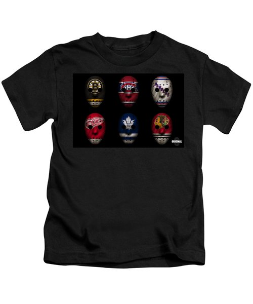 Original Six Jersey Mask Kids T-Shirt