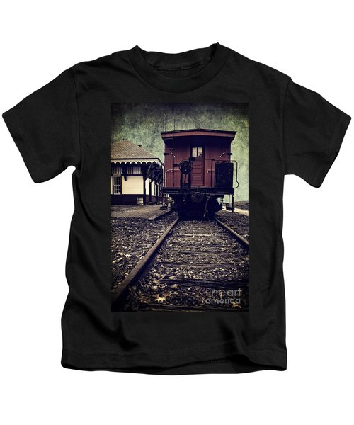 Other Side Of The Tracks Kids T-Shirt