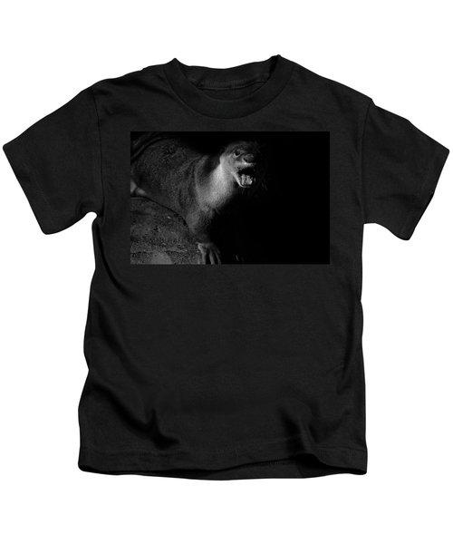 Otter Wars Kids T-Shirt by Martin Newman
