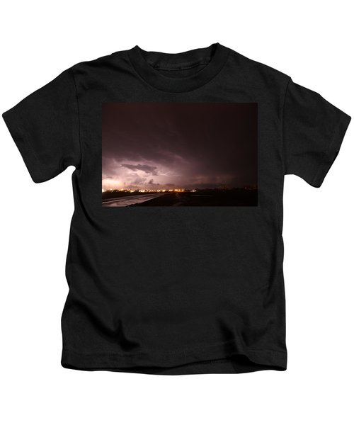 Our 1st Severe Thunderstorms In South Central Nebraska Kids T-Shirt