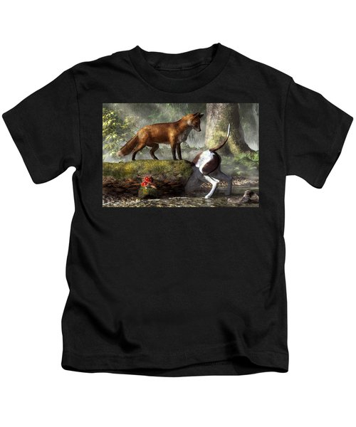 Outfoxed Kids T-Shirt