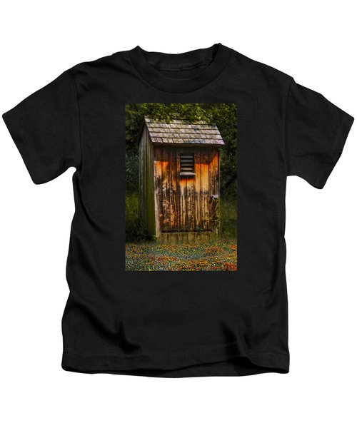 Outhouse Shack Kids T-Shirt