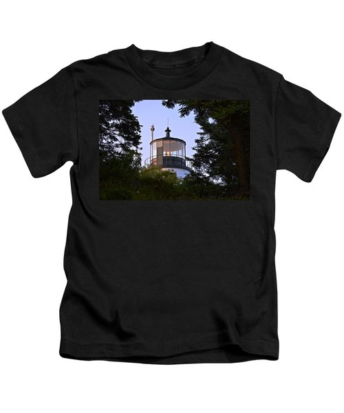 Owl's Head In The Trees Kids T-Shirt