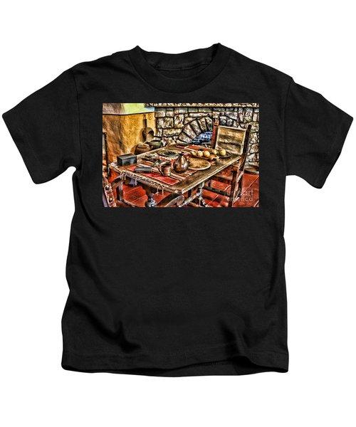 Padre's Table By Diana Sainz Kids T-Shirt