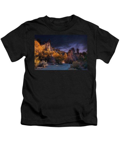 Pahrump - Road To Wheeler Peak Kids T-Shirt