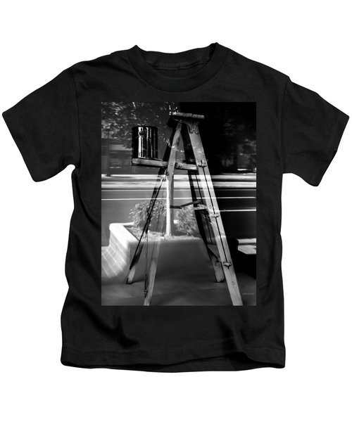 Painted Illusions - Abstract Kids T-Shirt