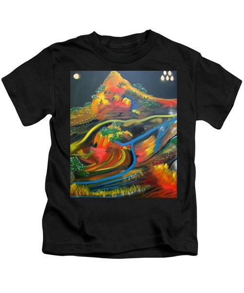 Painted Landscape Kids T-Shirt