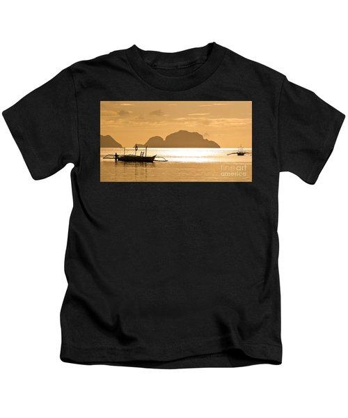 Palawan Sunset Kids T-Shirt