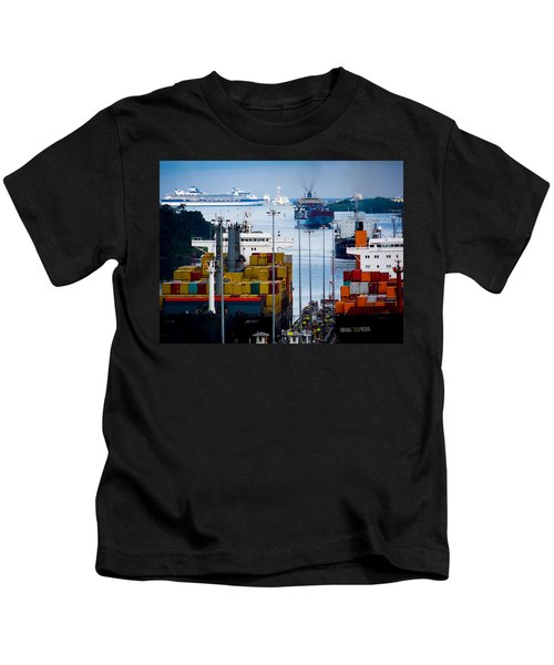 Panama Canal Express Kids T-Shirt
