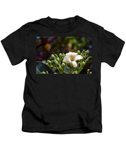 Papaya Flower Kids T-Shirt