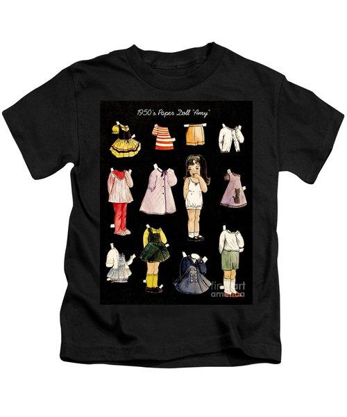 Paper Doll Amy Kids T-Shirt