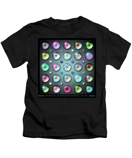 Paperweights And Marbles Kids T-Shirt