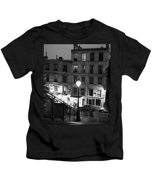 Paris-steps-montmartre Kids T-Shirt