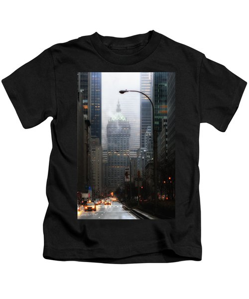 Park Avenue Dawn In Color Kids T-Shirt