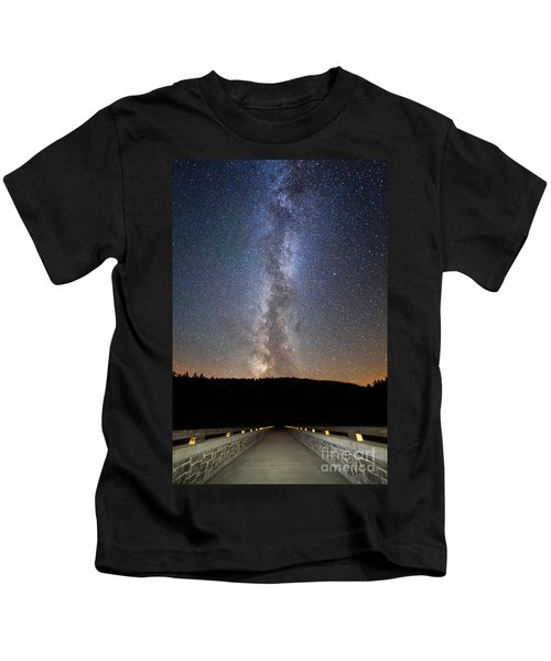 Path To Our Galaxy   Kids T-Shirt