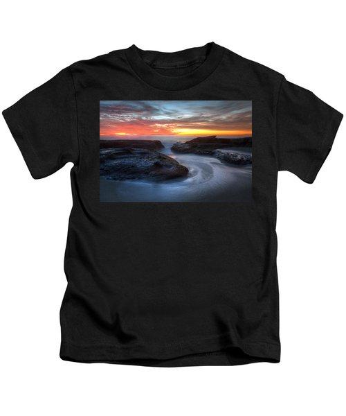 Path To The Sea Kids T-Shirt