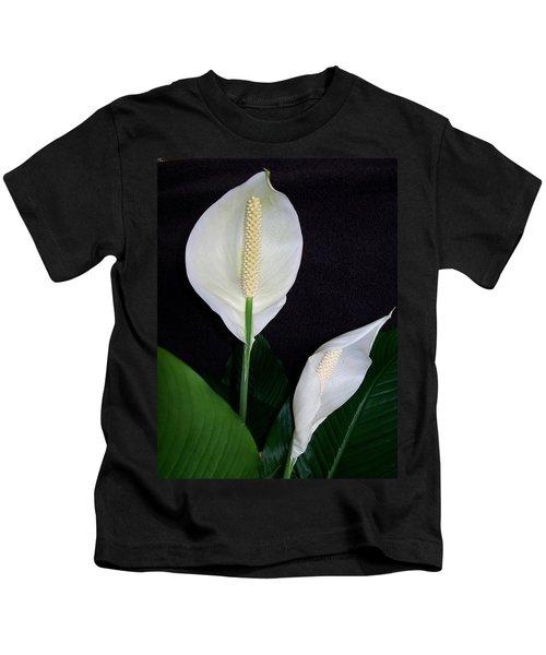 Peace Lilies Kids T-Shirt