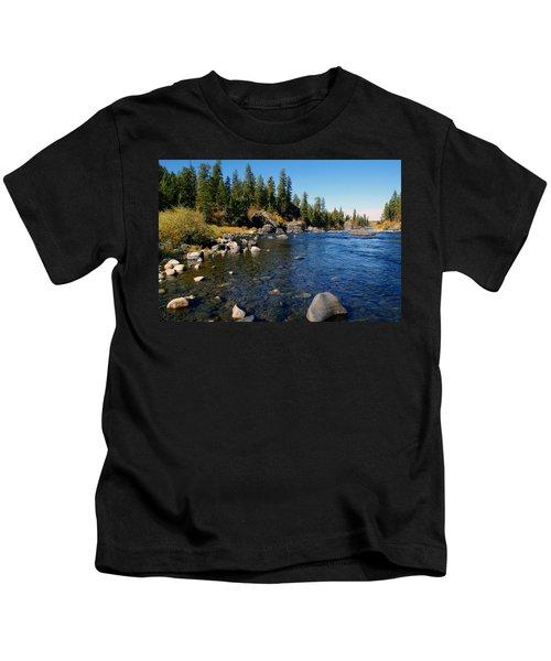 Peace On The Spokane River 2 Kids T-Shirt
