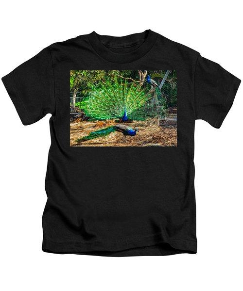 Peacocking Kids T-Shirt