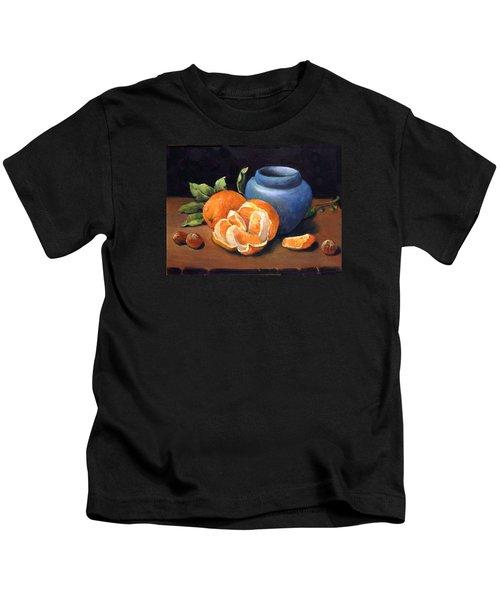 Peeled Orange Kids T-Shirt