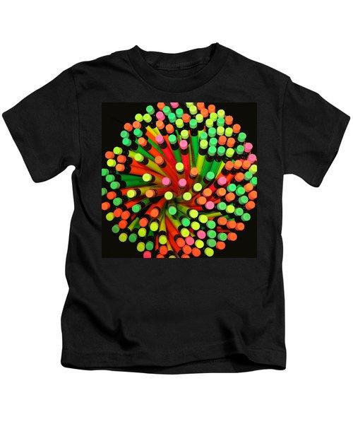 Pencil Blossom Kids T-Shirt