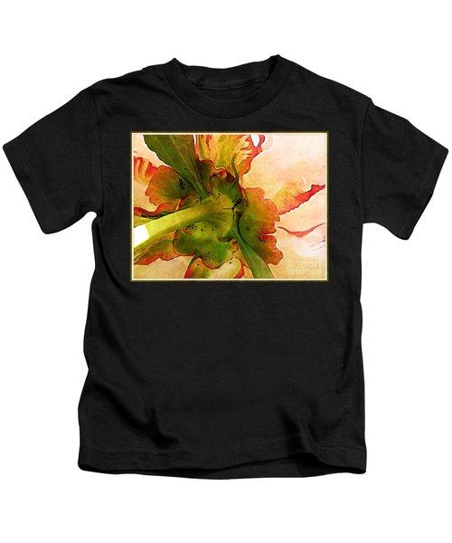 Peony Flirt Kids T-Shirt