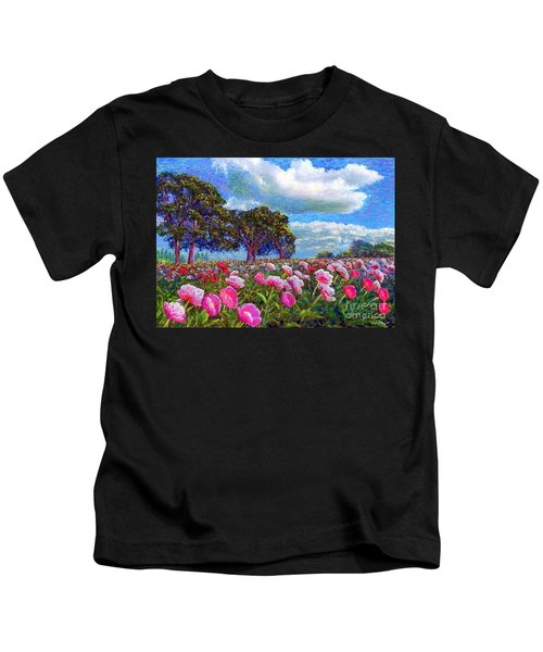 Peony Heaven Kids T-Shirt