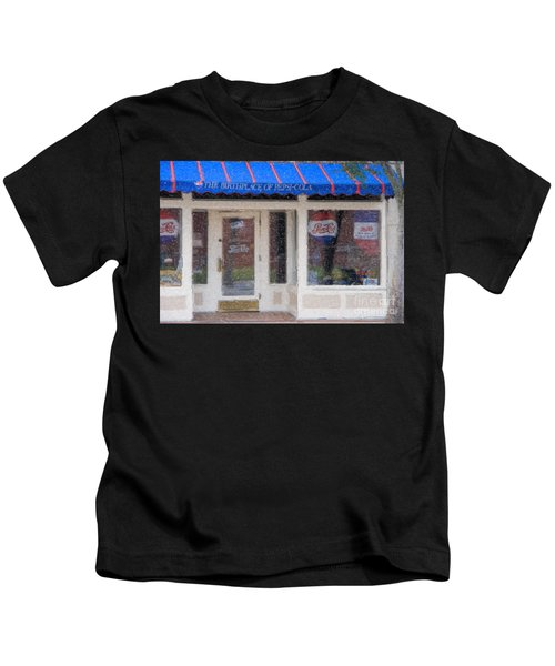 Pepsi Cola Birthplace Watercolor Kids T-Shirt