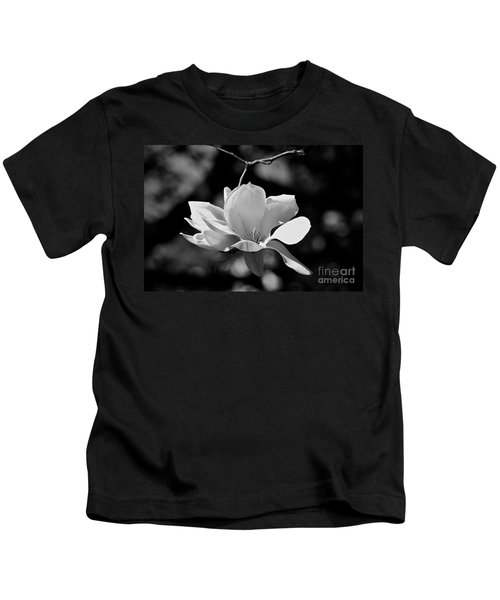 Perfect Bloom Magnolia In White Kids T-Shirt