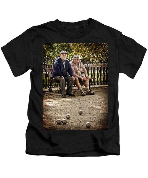 Petanque Match / Brive La Gaillarde Kids T-Shirt