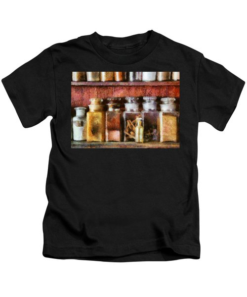 Pharmacy - The Curious Doctor Kids T-Shirt