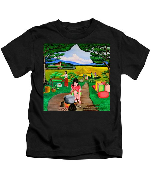 Picnic With The Farmers Kids T-Shirt