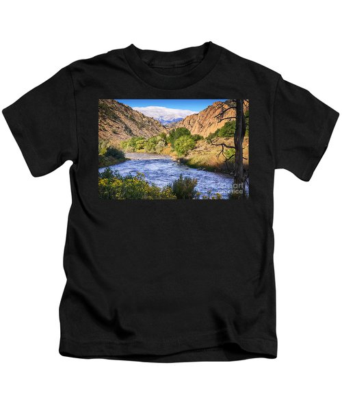 Picturesque Arkansas River Kids T-Shirt