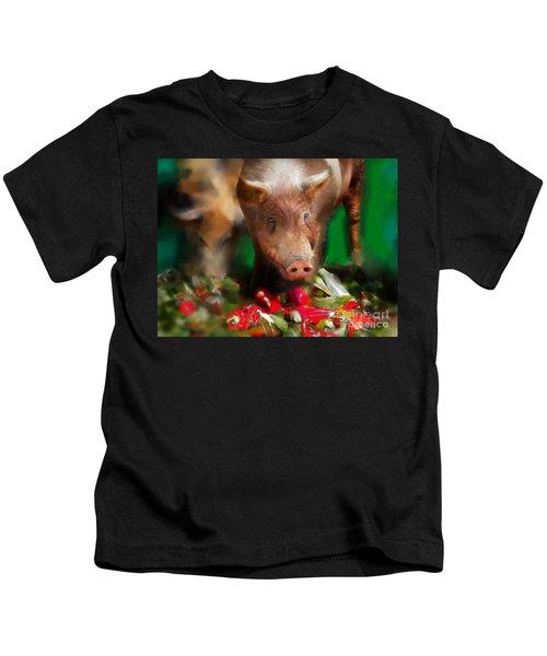 Pigs Kids T-Shirt