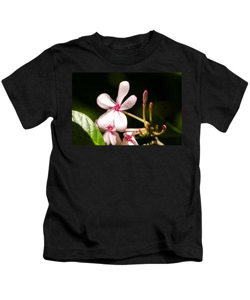 Pink Flower Kids T-Shirt