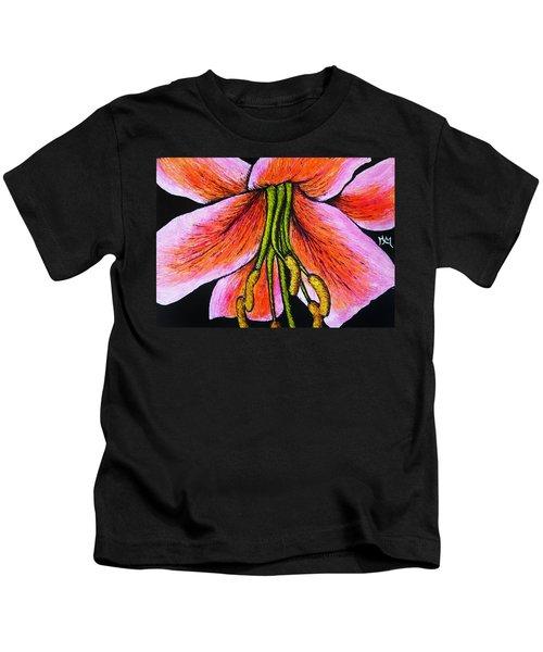 Pink Lily Kids T-Shirt