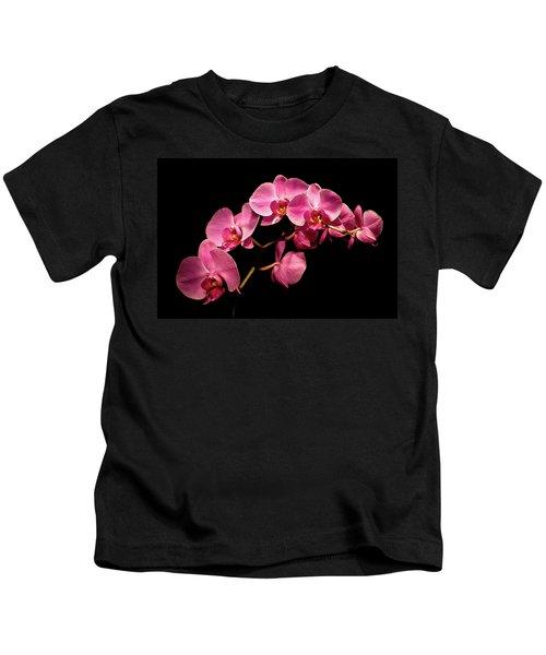 Pink Orchids 3 Kids T-Shirt