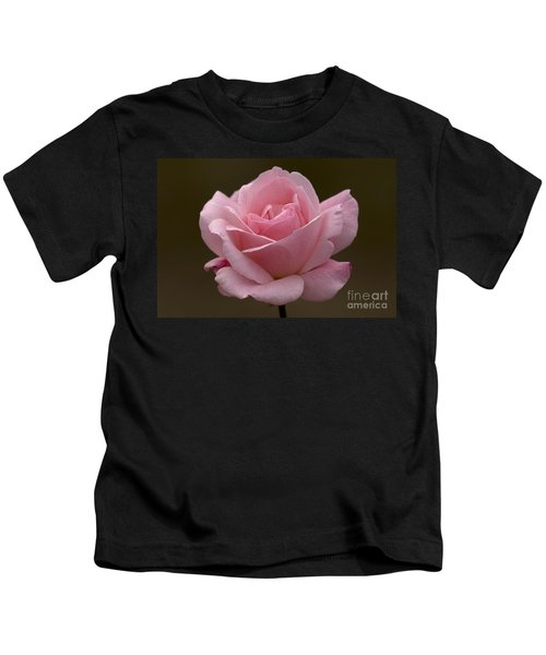 Pink Rose Kids T-Shirt