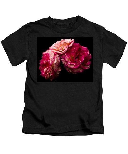 Pink Solitude Kids T-Shirt